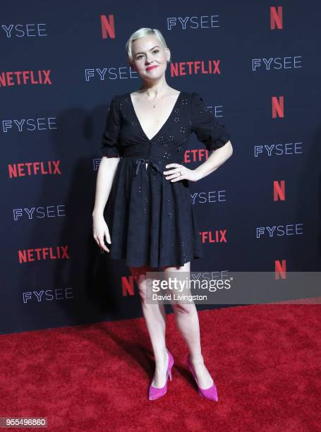 Kimmy Gatewood attends the Netflix FYSEE Kick-Off at Netflix FYSEE At Raleigh Studios on May 6, 2018 in Los Angeles, California.