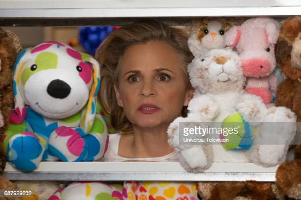SCHMIDT 'Kimmy Googles the Internet' Episode 311 Pictured Amy Sedaris as Mimi Kanassis