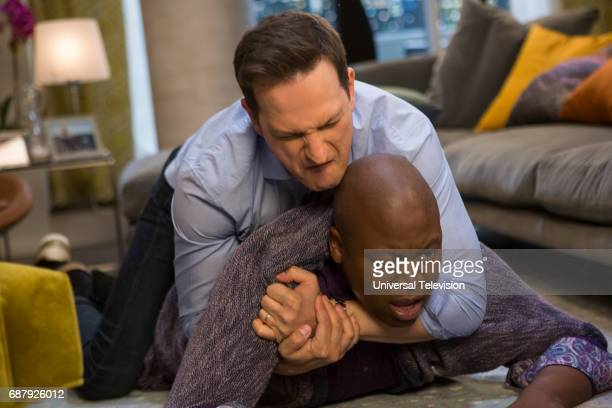 SCHMIDT 'Kimmy is a Feminist' Episode 306 Pictured Josh Charles as Duke Snyder Tituss Burgess as Titus Andromedon