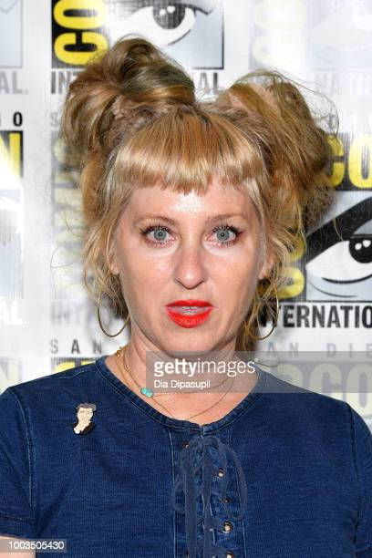 Kimmy Robertson attends the 'Twin Peaks' Press Line during ComicCon International 2018 at Hilton Bayfront on July 21 2018 in San Diego California