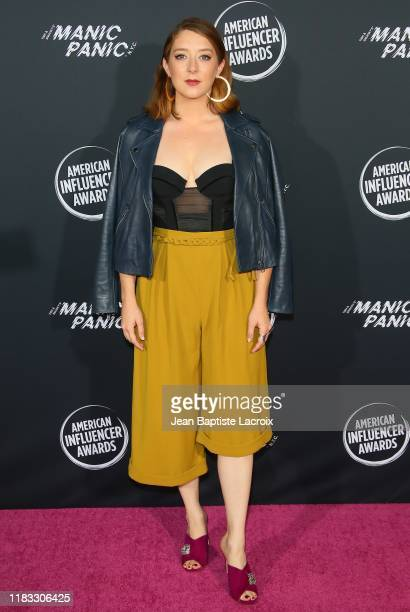Kimmy Shields attends the 2nd Annual American Influencer Awards at Dolby Theatre on November 18 2019 in Hollywood California