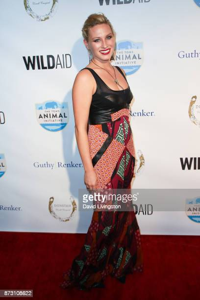 Kimmy Wahl arrives at the Evening with WildAid at the Beverly Wilshire Four Seasons Hotel on November 11 2017 in Beverly Hills California