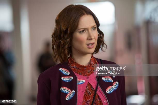 "Kimmy?s Roommate Lemonades!"" Episode 302 -- Pictured: Ellie Kemper as Kimmy Schmidt --"