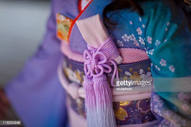 kimono details - kimono stock pictures, royalty-free photos & images