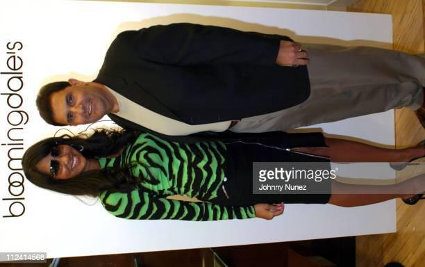 Kimora Lee Simmons and MCEI Vice President of Distribution Of Motorola Steve Camhi