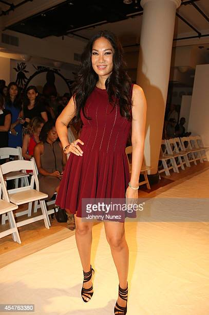Kimora Lee Simmons attends Argyleculture By Russell Simmons during MercedesBenz Fashion Week Spring 2015 at Helen Mills Event Space on September 5...
