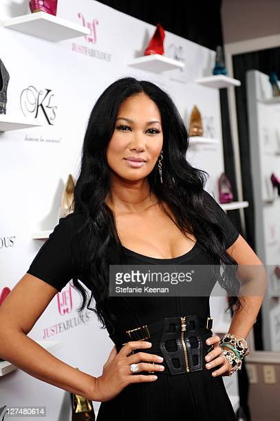 Kimora Lee Simmons attends Just Fabulous Kimora Lee Simmons at Sunset Tower on September 27 2011 in West Hollywood California