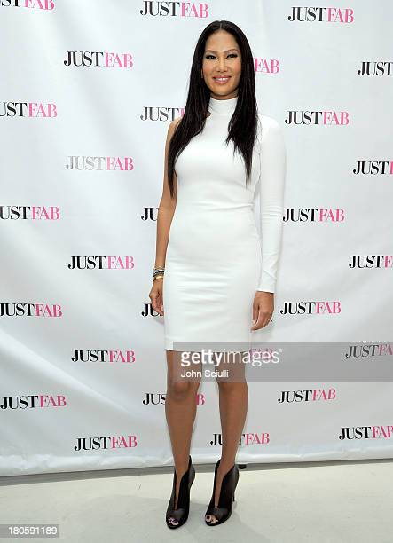 Kimora Lee Simmons attends JustFabcom Los Angeles flagship store debut at Glendale Galleria on September 14 2013 in Glendale California