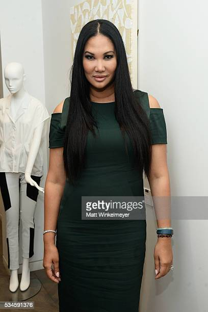 Kimora Lee Simmons attends the 1 Year Anniversary of Kimora Lee Simmons' Beverly Hills boutique on May 26 2016 in Beverly Hills California