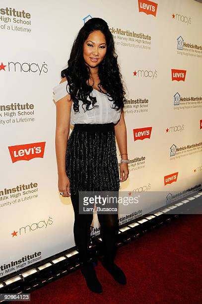 Kimora Lee Simmons attends The 2009 Emery Awards and 30th Anniversary of the HetrickMartin Institute at Cipriani Wall Street on November 10 2009 in...