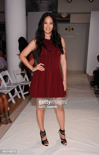 Kimora Lee Simmons attends the Argyleculture By Russell Simmons fashion show during MercedesBenz Fashion Week Spring 2015 at Helen Mills Event Space...