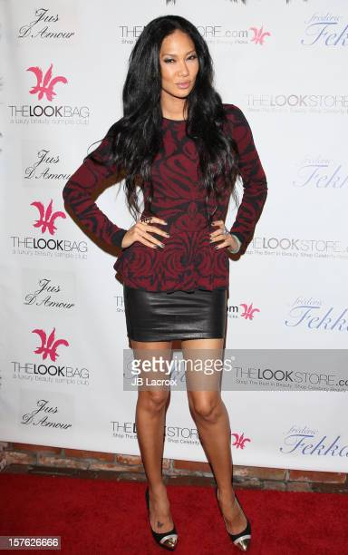 Kimora Lee Simmons attends the Fredric Fekkai Salon's Holiday Party on December 4 2012 in West Hollywood California