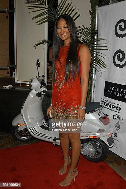 Kimora Lee Simmons attends Wayuu Taya Foundation Dinner at Tribeca Grand Hotel NYC USA on June 20 2005