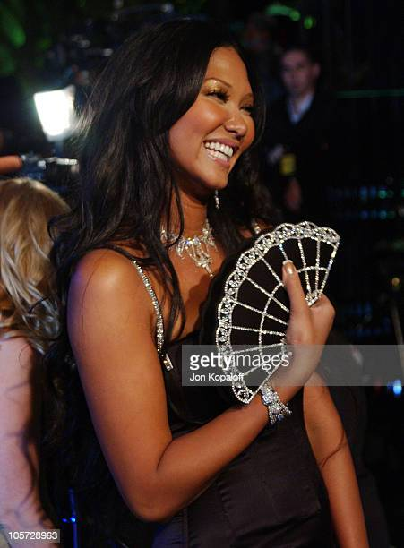 Kimora Lee Simmons during 2005 Vanity Fair Oscar Party at Mortons in Los Angeles California United States
