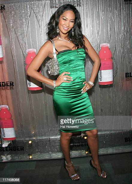 Kimora Lee Simmons during 2006 MTV Video Music Awards Blender / Vitamin Water VMA After Party at Tao in New York City New York United States