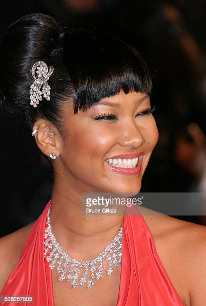 Kimora Lee Simmons during 2006 Vanity Fair Oscar Party at Morton's in West Hollywood California United States