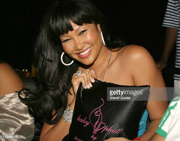 Kimora Lee Simmons during Baby Phat Diva Sneaker Launch Party at The Whiskey in New York City New York United States