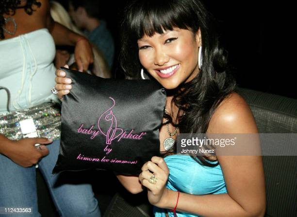 Kimora Lee Simmons during Baby Phat Sneaker Launch Party Hosted By Kimora Lee Simmons June 24 2004 at The Whiskey in New York City New York United...