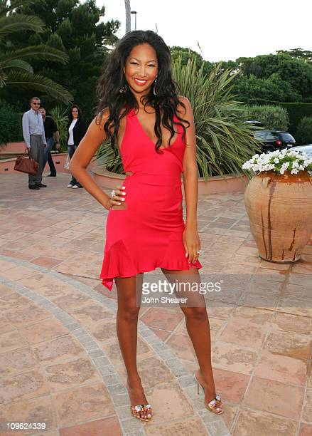 Kimora Lee Simmons during Behind the Scenes Photos on Kimmora Lee Simmons Photo Shoot for Petra Nemcova's and Scott Henshall's Big Red Book May 26...