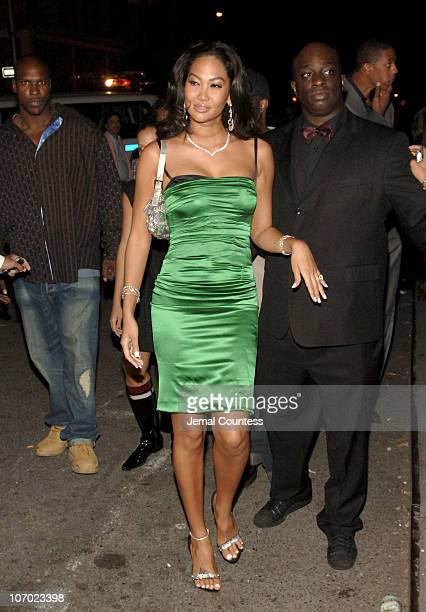 Kimora Lee Simmons during Beyonce's Birthday and Record Release Party for Her New Album 'BDay' Arrivals at 40/40 Club in New York City New York...
