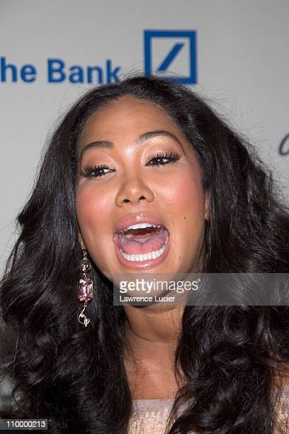 Kimora Lee Simmons during Duran Duran Performs at the 2006 CiprianiDeutsche Bank Concert Series Benefiting AmFAR at Cipriani's Wall Street in New...