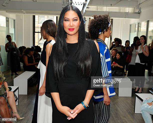 Kimora Lee Simmons during her Kimora Lee Simmons SS17 Fashion Show and Presentation at 43 West 24th St 9th Floor on September 14 2016 in New York City