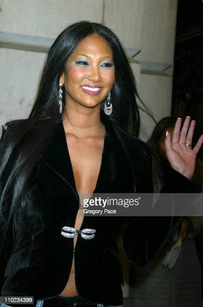 Kimora Lee Simmons during Steel Magnolias Opening Night on Broadway Arrivals at Lyceum Theatre in New York City New York United States