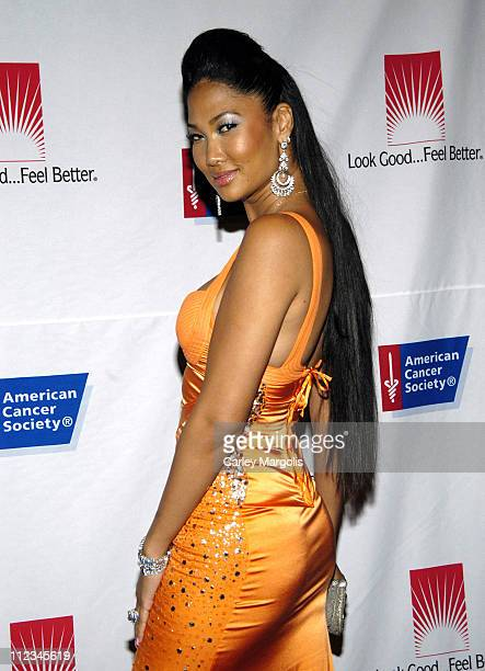 Kimora Lee Simmons during The American Cancer Society and Cosmetic Industry's 21st Annual DreamBall Benefiting Look Good, Feel Better at Waldorf...