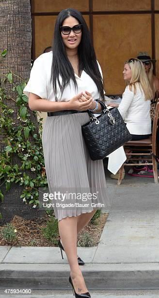 Kimora Lee Simmons is seen on June 04 2015 in Los Angeles California