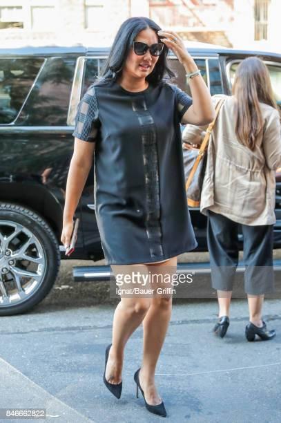 Kimora Lee Simmons is seen on September 13 2017 in New York City