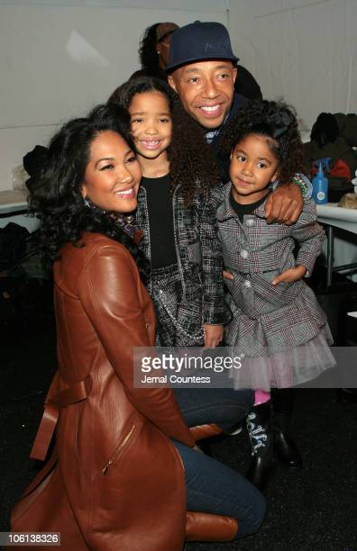 Kimora Lee Simmons Ming Lee Simmons Russell Simmons and Aoki Lee Simmons