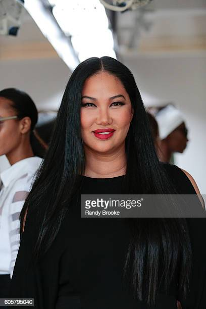 Kimora Lee Simmons poses during her Presentation for September 2016 Spring 2017 during New York Fashion Week at The Gallery Skylight at Clarkson Sq...