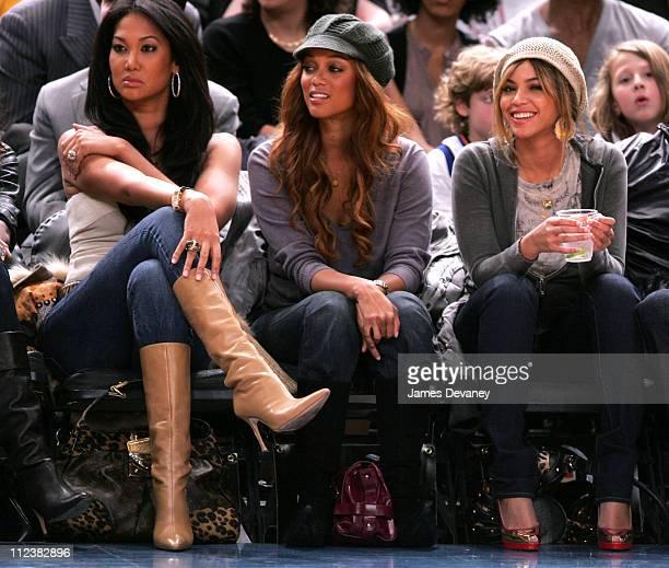 Kimora Lee Simmons Tyra Banks and Beyonce Knowles