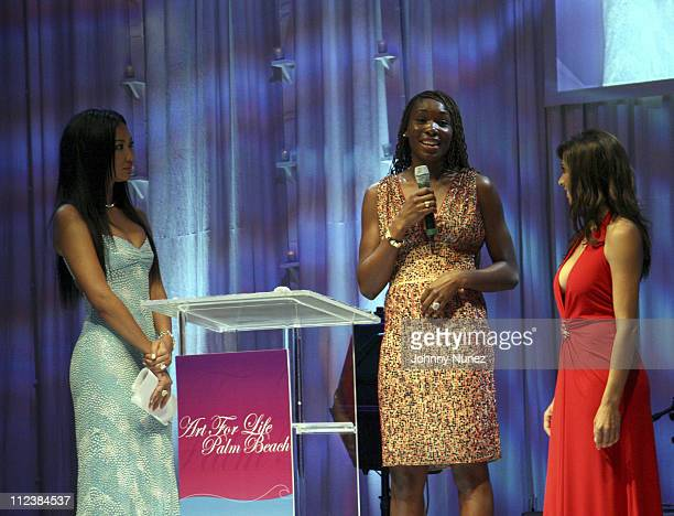 Kimora Lee Simmons, Venus Williams and Shamin Abas