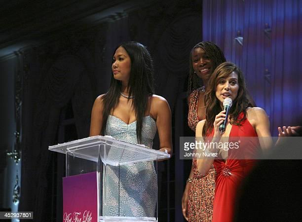 Kimora Lee Simmons Venus Williams and Shamin Abas