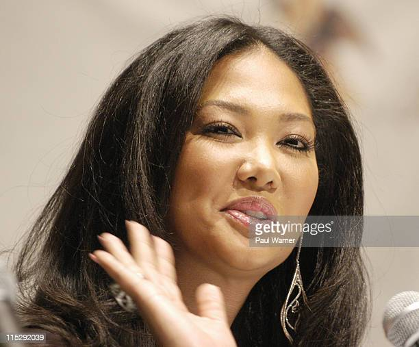 Kimora Simmons during 2006 Hip Hop Summit Sponsored By Chrysler Financial at Wayne State University's Bonstelle Theatre in Detroit Michigan United...