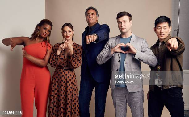 Kimrie Lewis Leighton Meester Brad Garrett Taran Killam and Jake Choi of ABC's 'Single Parents' pose for a portrait during the 2018 Summer Television...