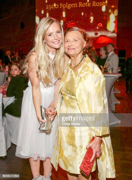 KimSarah Brandts and Brigitte Antonius attend the 'Rote Rosen' TV Show Gala To Celebrates 2500 Episodes on July 1 2017 in Luneburg Germany