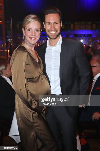 KimSarah Brandts and Jan Riecken at the Polettos Palazzo at Spiegelpalast on November 15 2019 in Hamburg Germany