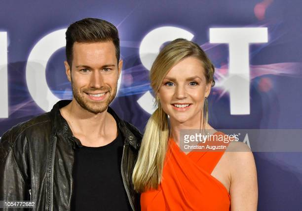 KimSarah Brandts and Jan Riecken attend the premiere of the musical 'Ghost The Musical' at Stage Operettenhaus on October 28 2018 in Hamburg Germany