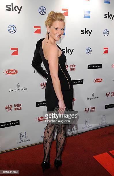KimSarah Brandts attends Movie meets Media at the Hotel Atlantic on December 9 2011 in Hamburg Germany
