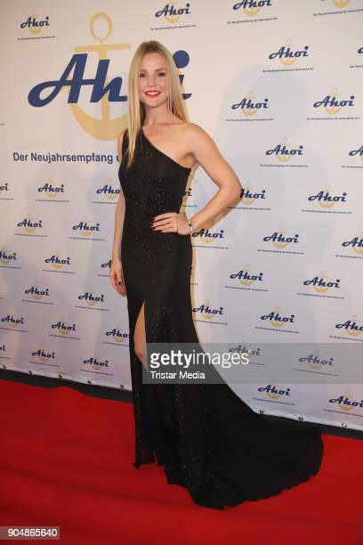 KimSarah Brandts attends the 'Ahoi 2018 The special kind of New Year's Reception on January 13 2018 in Hamburg Germany