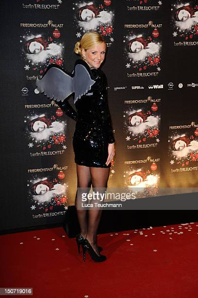 KimSarah Brandts attends the 'Berlin Illuminated' musical premiere at FriedrichstadtPalast on November 24 2011 in Berlin Germany
