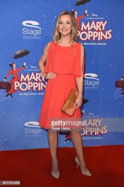 KimSarah Brandts attends the 'Mary Poppins' Musical Premiere at Stage Theater on February 25 2018 in Hamburg Germany