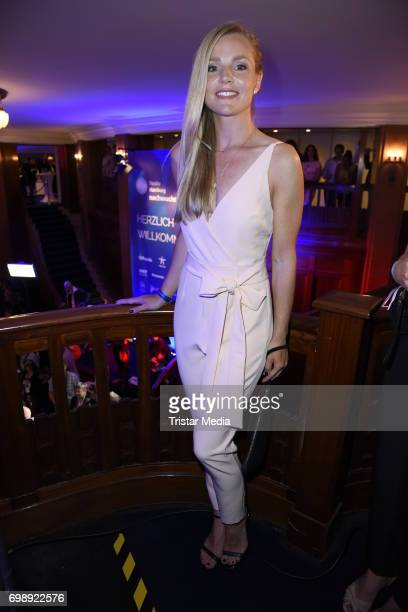 KimSarah Brandts attends the Studio Hamburg Nachwuchspreis 2017 at Thalia Theater on June 20 2017 in Hamburg Germany