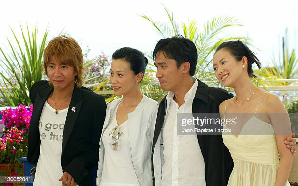 Kimura Takuya Carina Lau Tony Leung and Zhang Ziyi