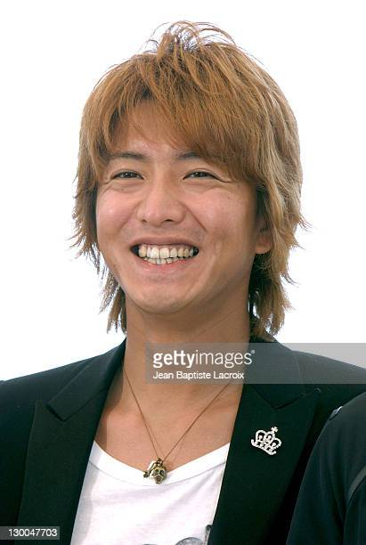 Kimura Takuya during 2004 Cannes Film Festival '2046' Photocall at Palais Du Festival in Cannes France