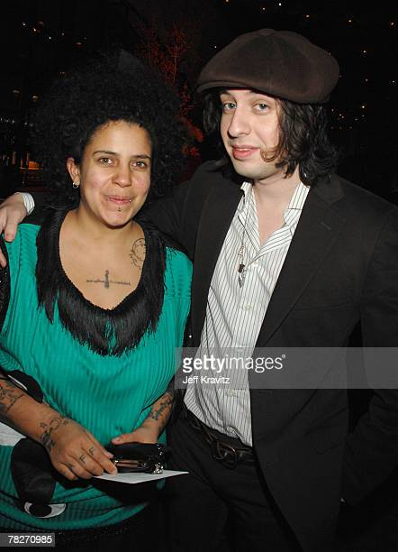 Kimya Dawson and Adam Greene at the after party for the premiere of Fox Searchlight's Juno at the Village Theater on December 3 2007 in Westwood...