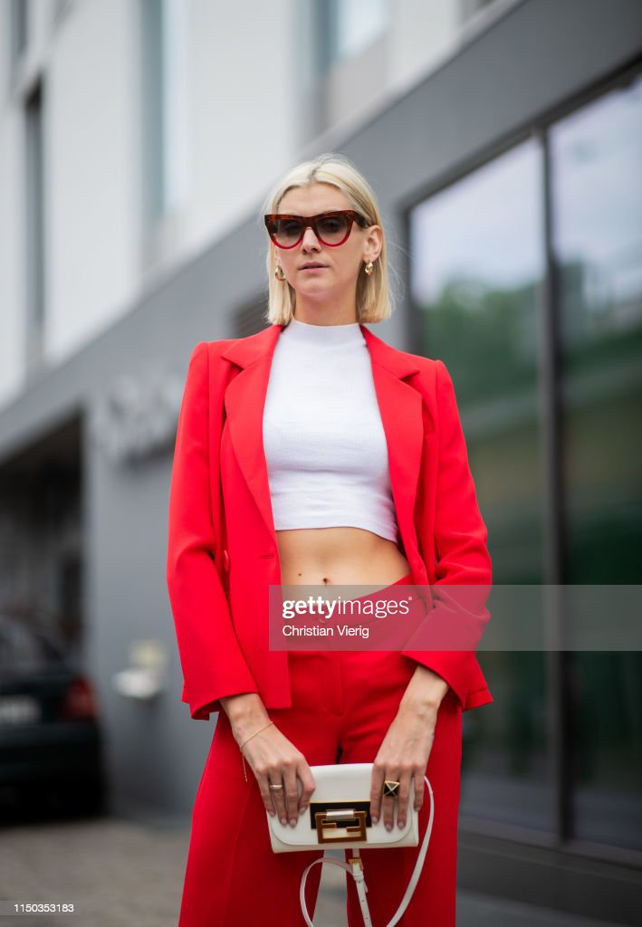 DEU: Street Style - Berlin - May 18, 2019