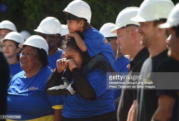 Kina Makalo wipes tears away She nominated her aunt and uncle Brian and Lisa Fifita to be on Extreme Makeover Home Edition This morning the family...